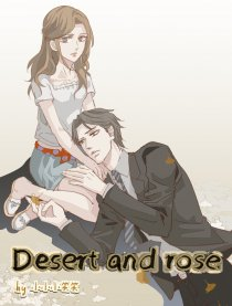 Desert and rose